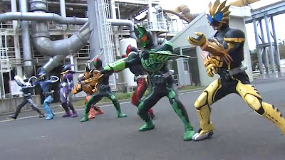 Kamen Rider OOO All Combo