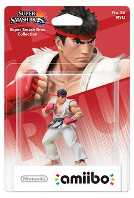 TOYS : JUGUETES - NINTENDO Amiibo  56 : Figura Ryu | Super Smash Bros Collection  Marzo 2016 | Videojuegos | A partir de 6 años  Comprar en Amazon España & buy Amazon USA