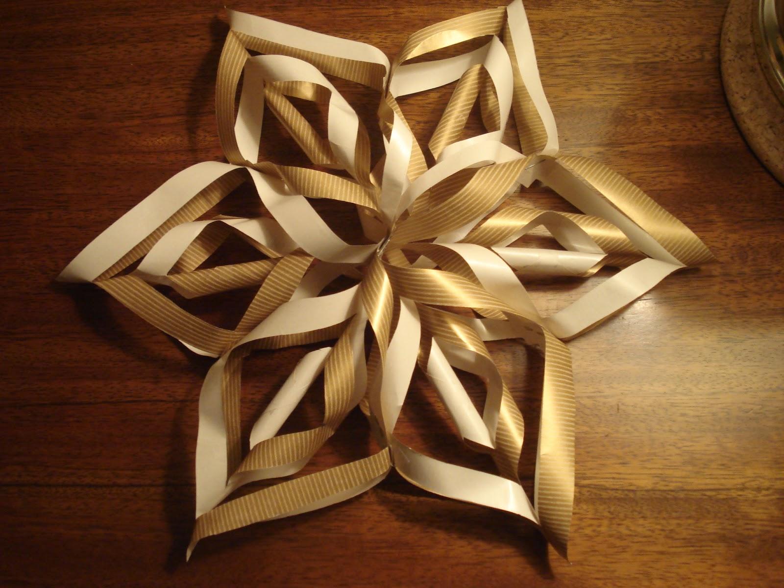 Crafty Nerdy Nurse 3D Paper Snowflake