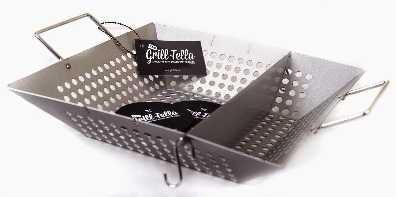 GrillFella BBQ Wok (Silver)