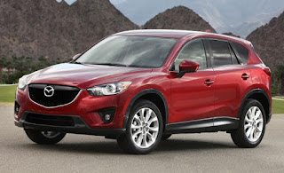 Mazda's 2013 CX-5 SUV is new and nice