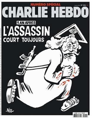 buongiornolink - Charlie Hebdo Dio col mitra fa infuriare cattolici e islamici