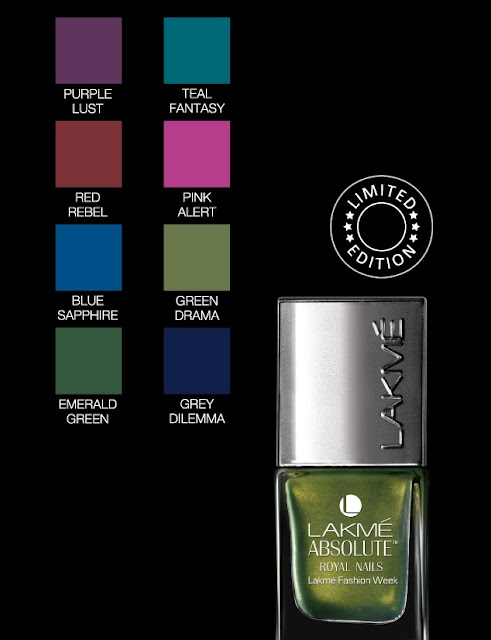 Lakme absolute royal collection price swatches