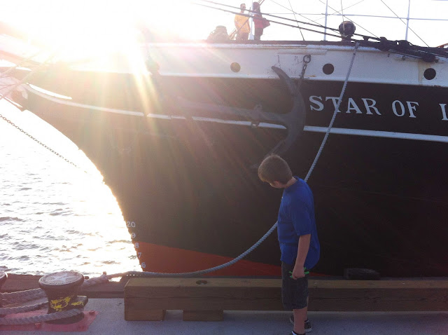 homeschool field trip to the star of india in san diego