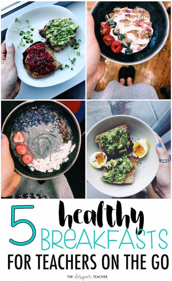The designer teacher 5 healthy breakfast ideas for teachers on the go 5 healthy breakfast ideas for teachers on the go forumfinder Image collections