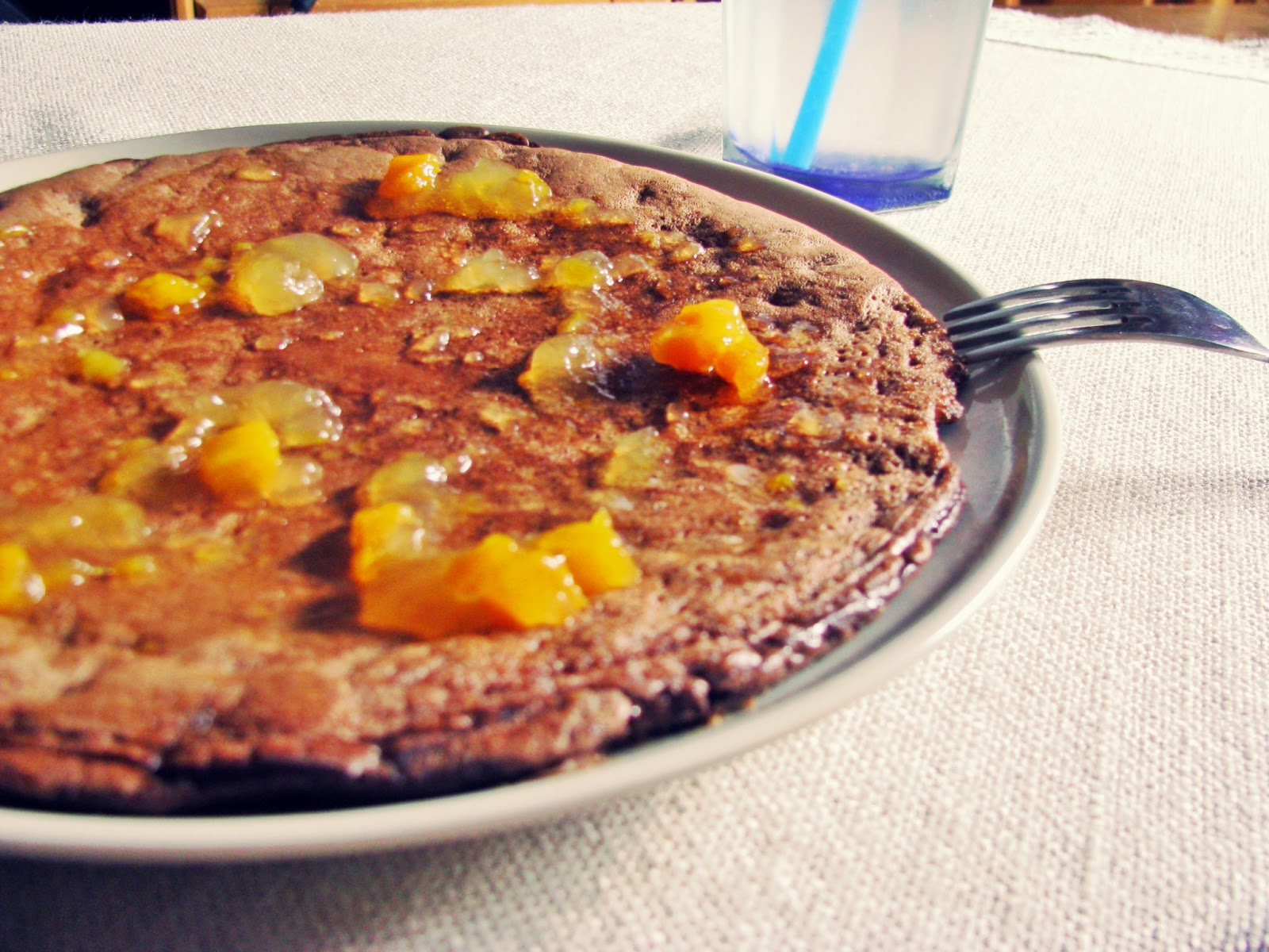 Czekoladowy omlet bez mąki