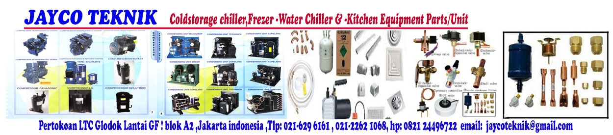 SPARE PARTS COLDSTORAGE FREEZER:parts coldstorage chiiler-freezer
