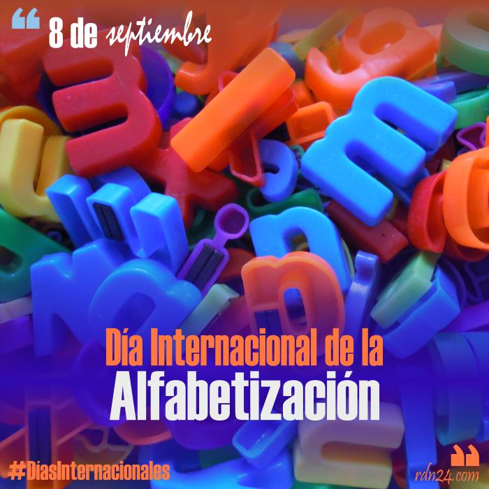 8 de septiembre – Día Internacional de la Alfabetización #DíasInternacionales