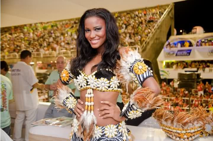 Leila Lopes Miss Universe 2011