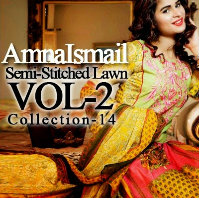Amna Ismail Summer Lawn Dresses 2014