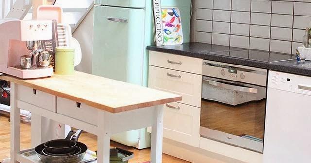 Pellmell cr ations frigo smeg for Interieur frigo smeg