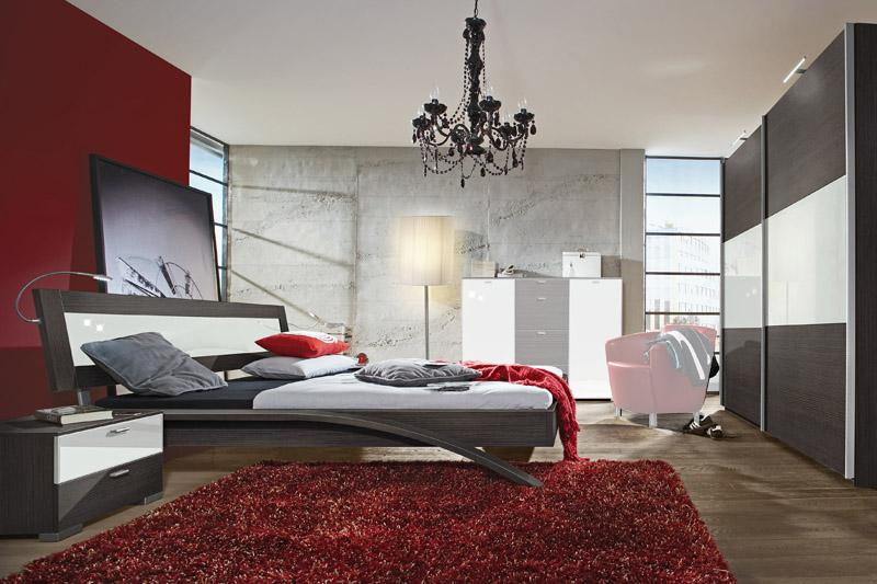 Dormitorios colores y estilos agosto 2013 for Decoracion blanco negro rojo