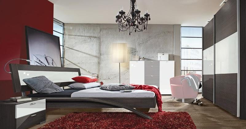 Dormitorios en rojo blanco y negro dormitorios colores y - Decoracion blanco negro rojo ...