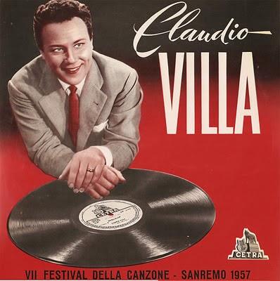 Sanremo sanremo 1957 claudio villa corde della mia for Planimetrie della mia villa