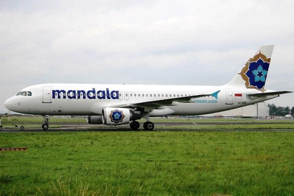 Mandala Airlines Airbus A320