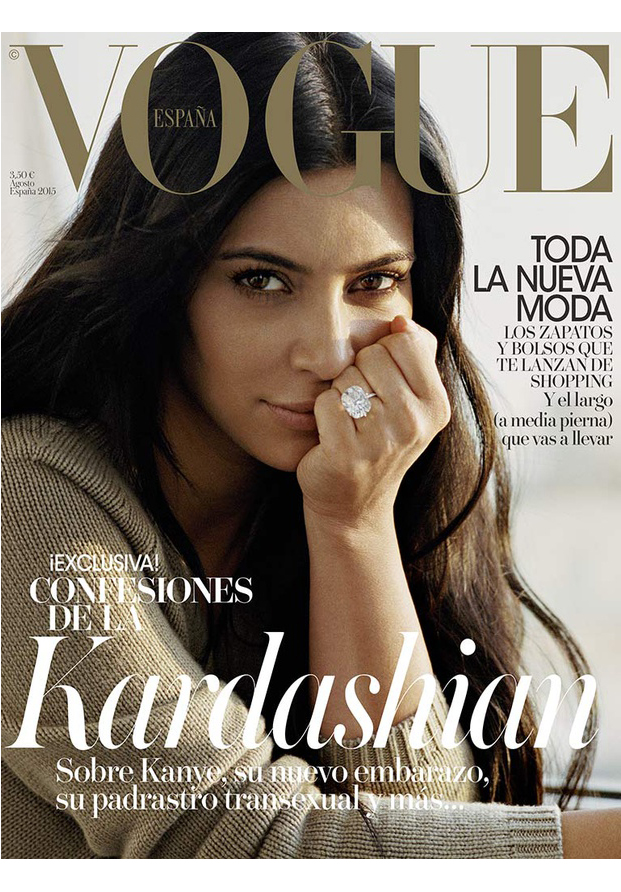 Kim Kardashian Vogue Spain