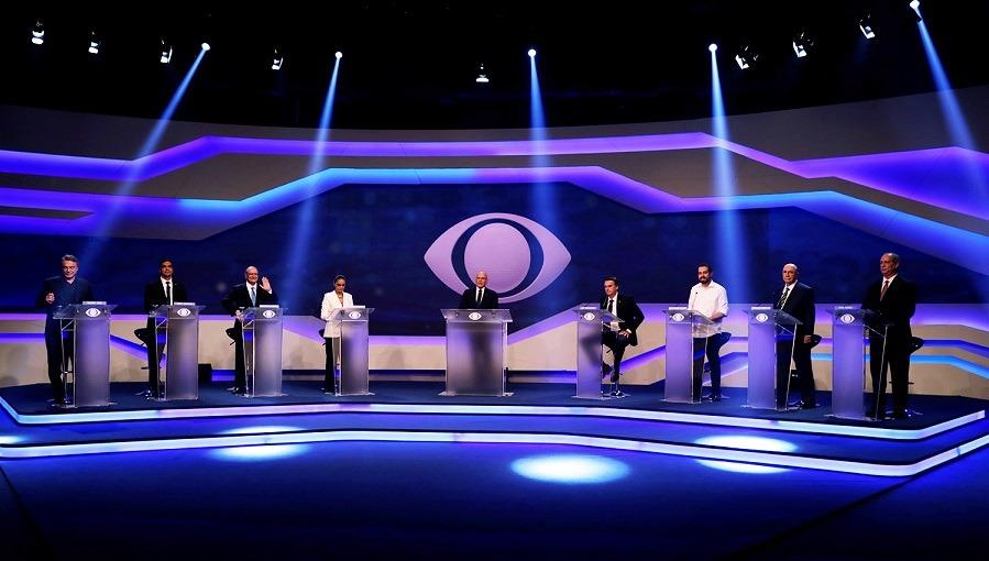 Debate Presidencial 2018 na Band 2018 Filme 720p HD HDTV completo Torrent