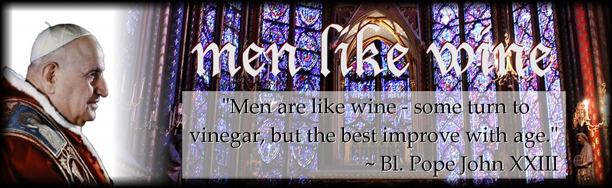 men like wine