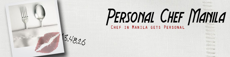 Personal Chef Manila