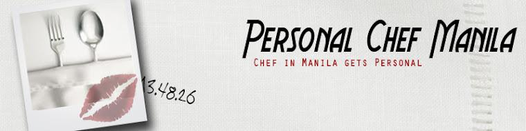 Personal Chef Manila