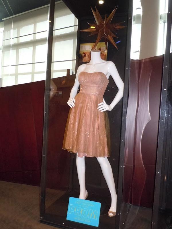 Aimee Teegarden Disney Prom dress