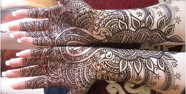 ~Beautiful~Leatest~ Karwa Chauth Mehndi Design Images Wallpaper 2015