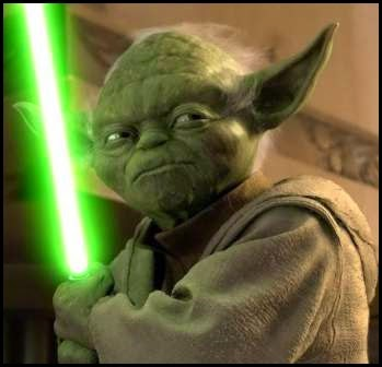 """Yoda en """"El ataque de los clones"""" (2002)"""