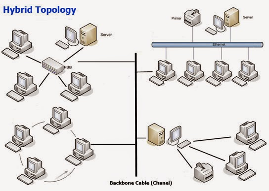 Network information ring topology hybrid topology and wirless topology advantages ccuart Image collections