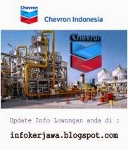 Lowongan Kerja Migas Terbaru PT Chevron Indonesia