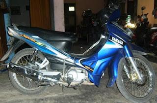 Sepeda Motor Jupiter Z irit dan kencang
