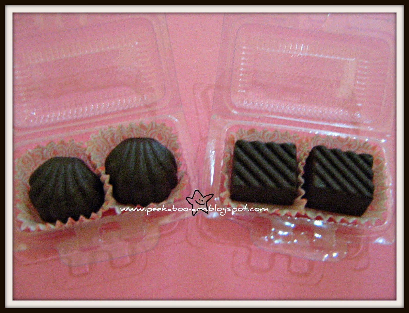 Peekaboo Arn: Door Gift: Homemade Chocolate