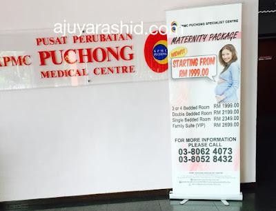 pengalaman bersalin di kpmc puchong