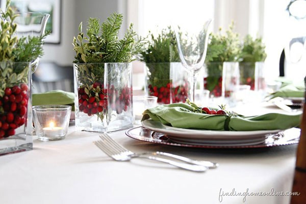 Days Prior To Christmas And Take A Little Extra Effort Set Pretty Table For Every Meal Gather Items From Your Displays Get Creative