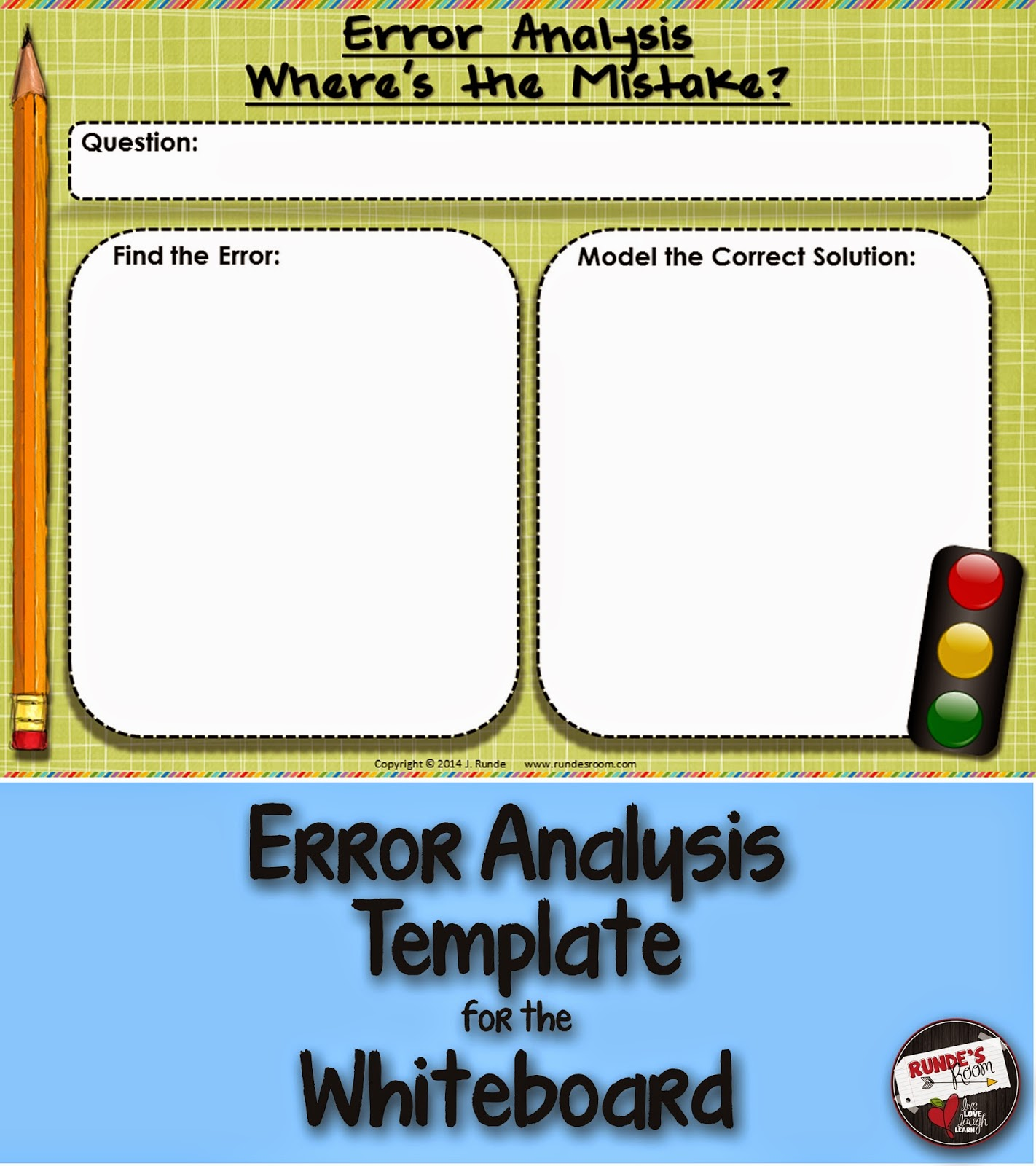 Error Analysis Template