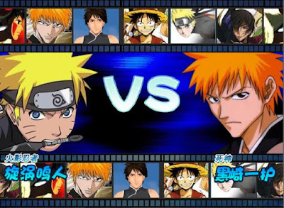 Naruto vs Bleach PC Games for windows