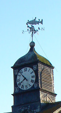 The Weather Vane and clock tower has been done up since this picture!