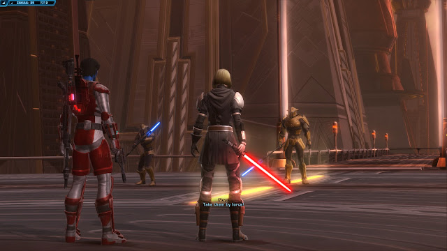 star wars the old republic, Knights of the Fallen Empire, Chapter III Outlander knight of zakuul standoff