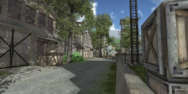 One of the 100+ maps in digital paintball 3
