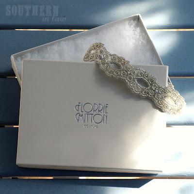 Florie Mitton Couture Goddess Garter