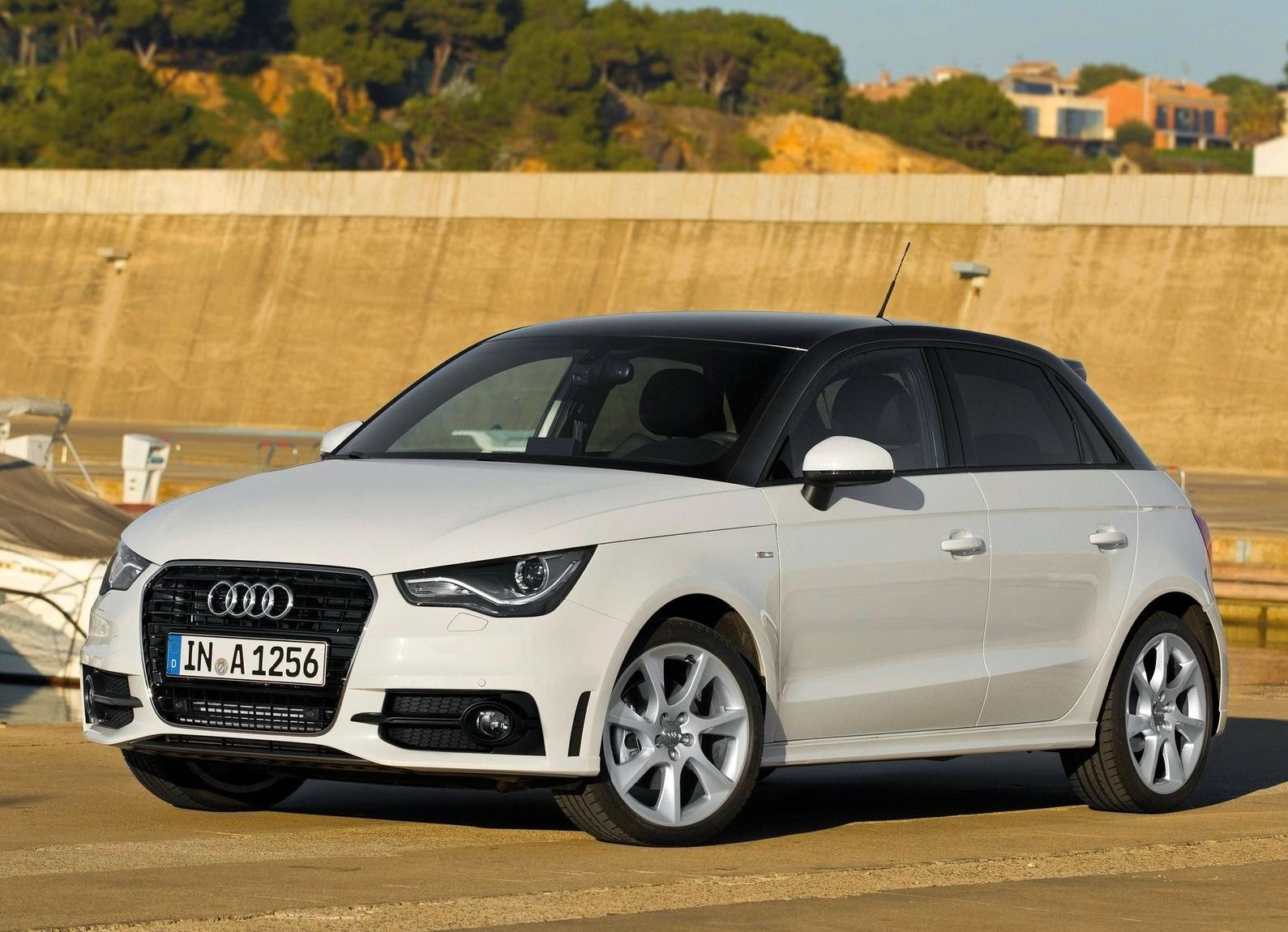 Audi A1 Sportback 2012 Desktop Wallpaper