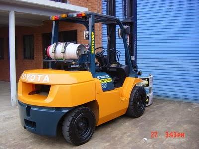 Toyota LPG Forklift