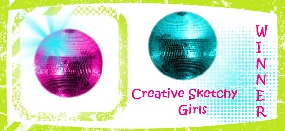 20-7-2017 #13 gwonnen bij CreativeSketchyGirls