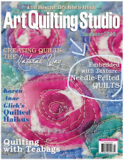 Find Jo's Article in Art Quilting Studio magazine, Volume 5, Issue 2