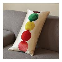 Декоративная подушка светофор