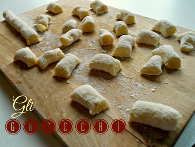 gli gnocchi - italian potato dumplings