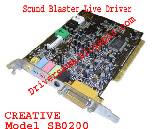 Sound Blaster Live Sb0200 Driver Free Download