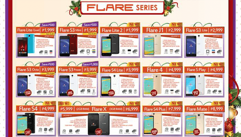 Surprise! Cherry Mobile Intros The Hexa Core Flare S4 Lite, Flare S Play With Digital TV And 2 GB RAM Variant Of Flare X!