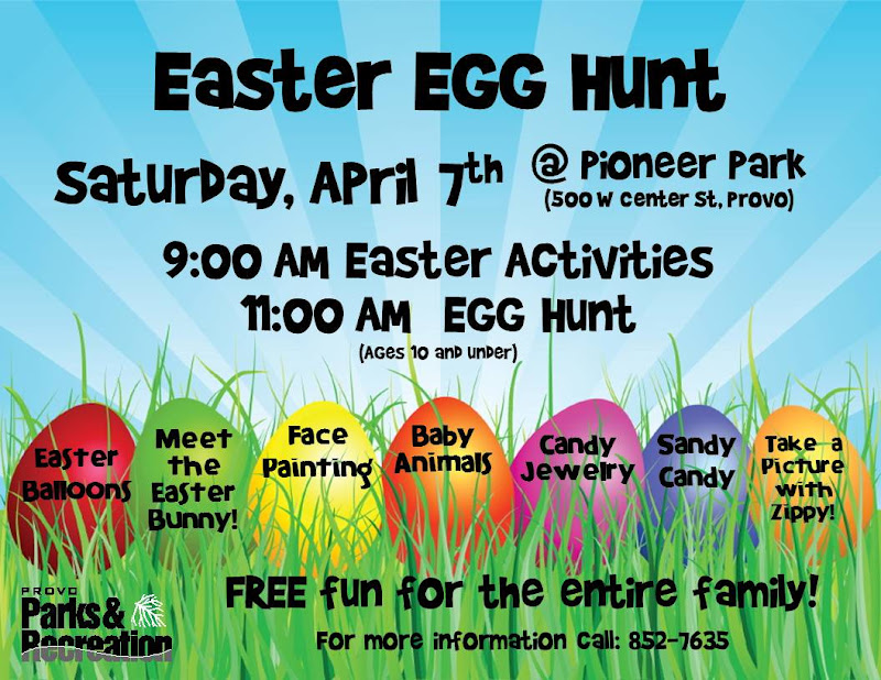 Provo city events easter egg hunt map 2012 maxwellsz