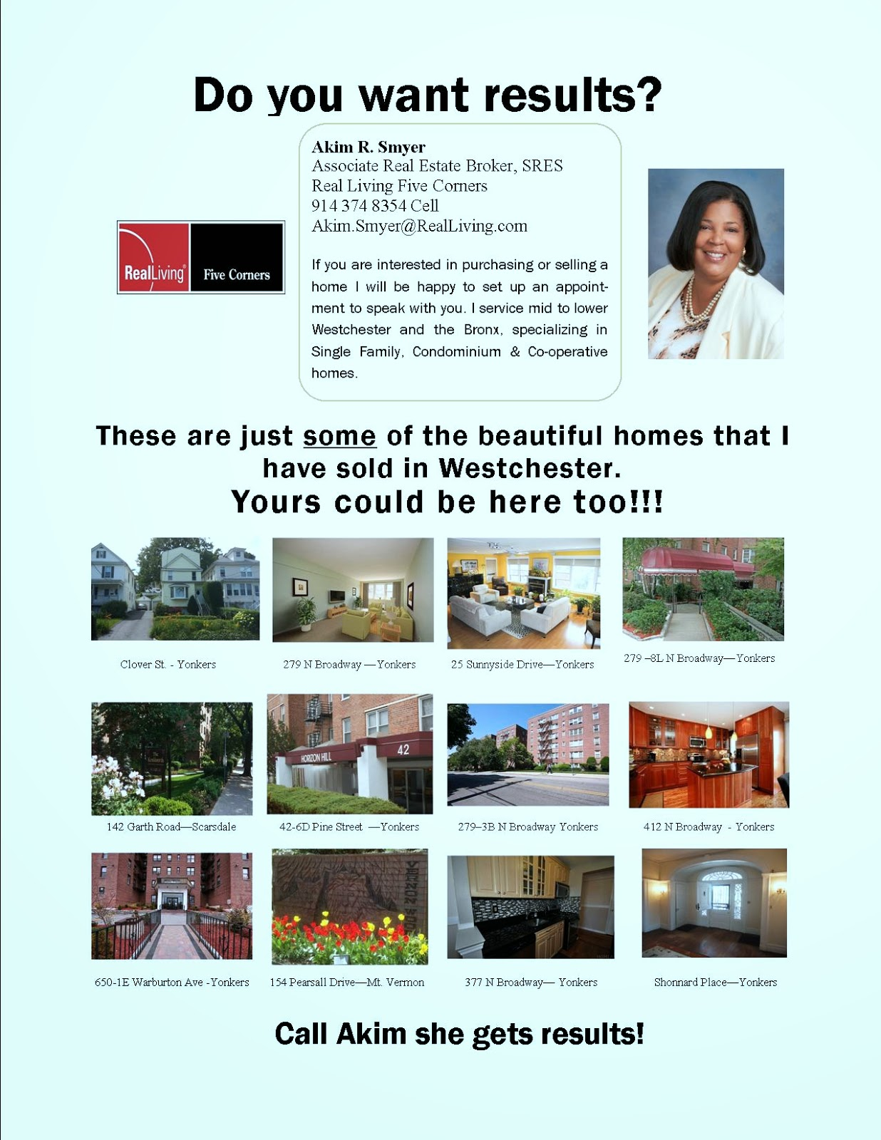 Home Buyers and Sellers get Results with Akim Smyer Realtor