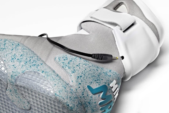 nike air mag shoes marty mcfly back to the future ebay